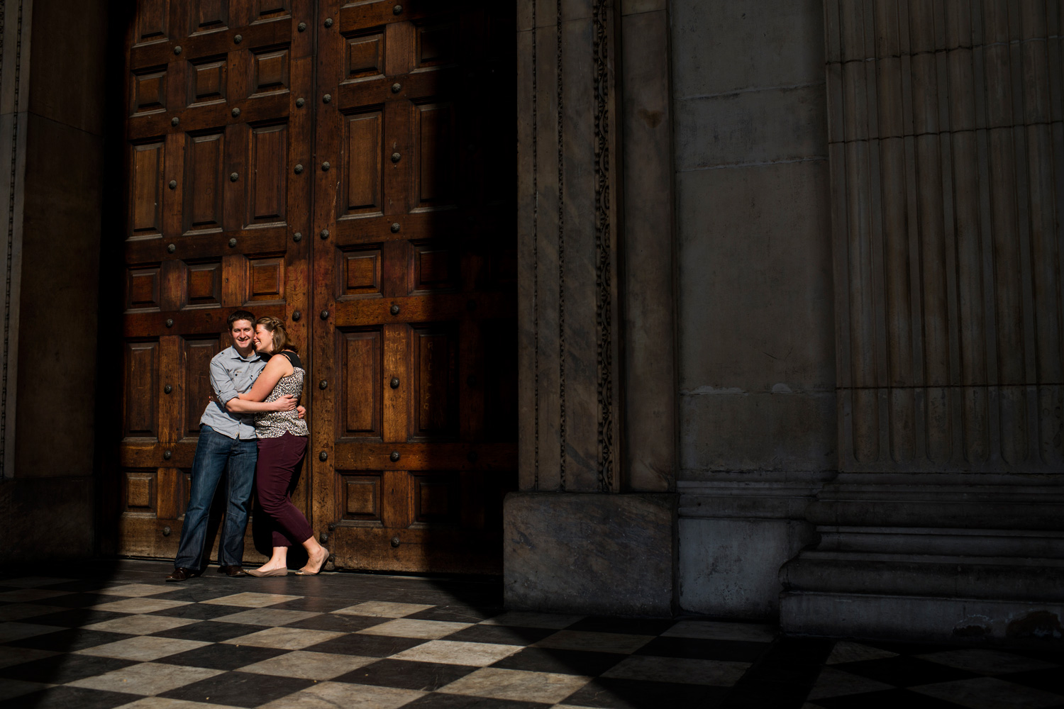 London Pre Wedding Shoot, Amanda & Chris.