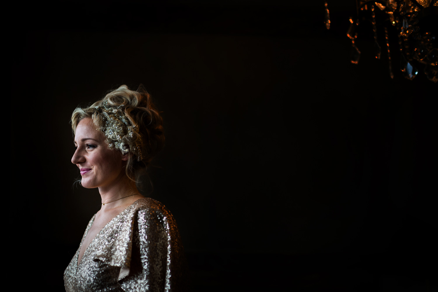 bride at The Bell in Ticehurst