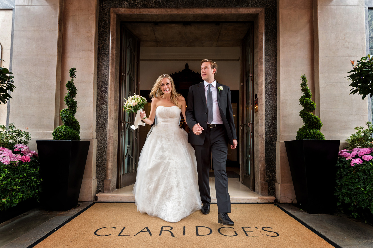 Claridge's wedding photographer