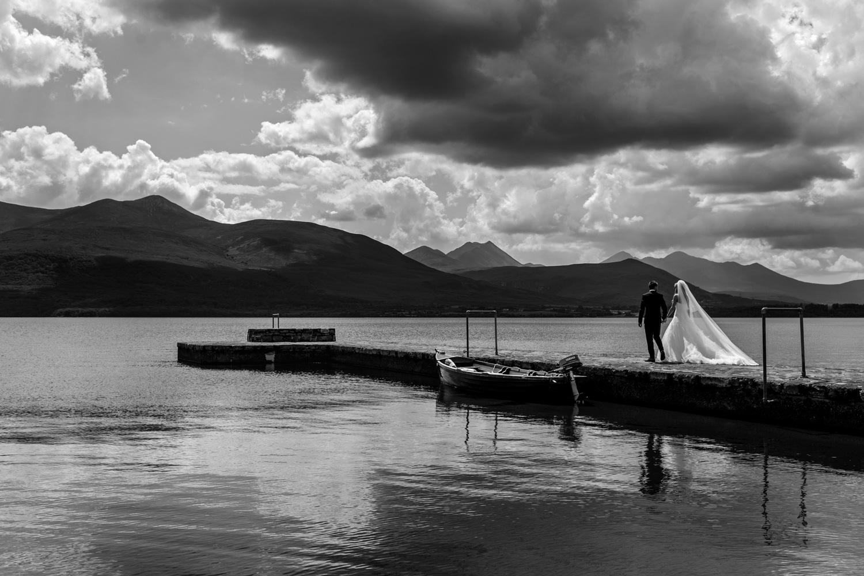 destination wedding portrait