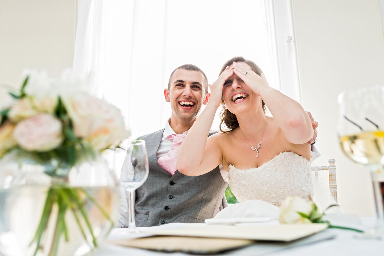wedding speech reaction