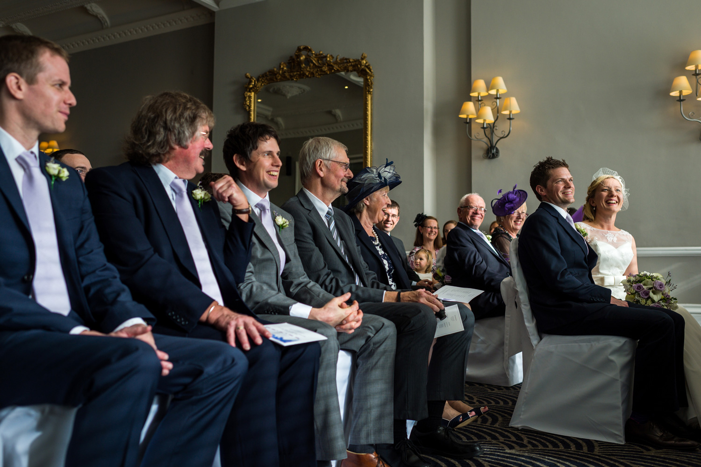 wedding ceremony at the grand hotel Brighton