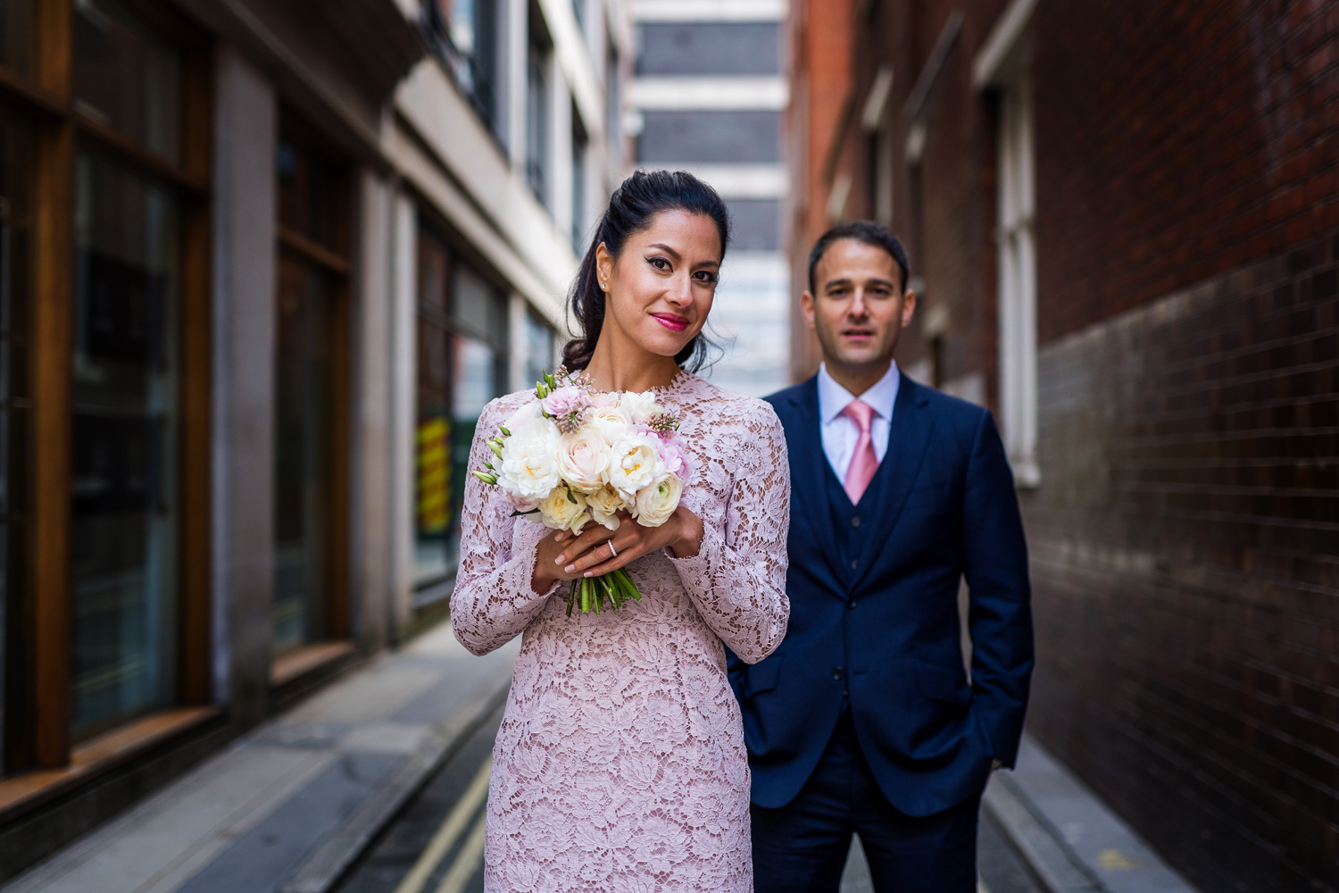 Mayfair Library wedding photography – Marguerite & Raja