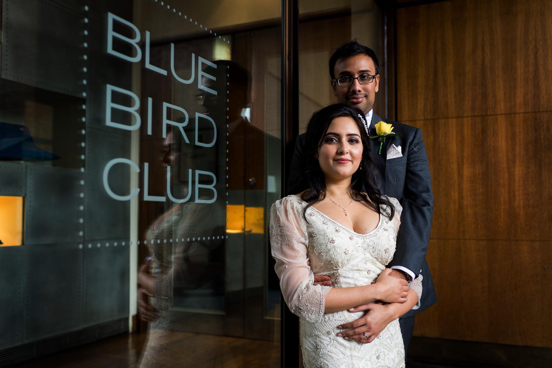 Bluebird Restaurant, London, wedding photography – Reshmi & Sarit