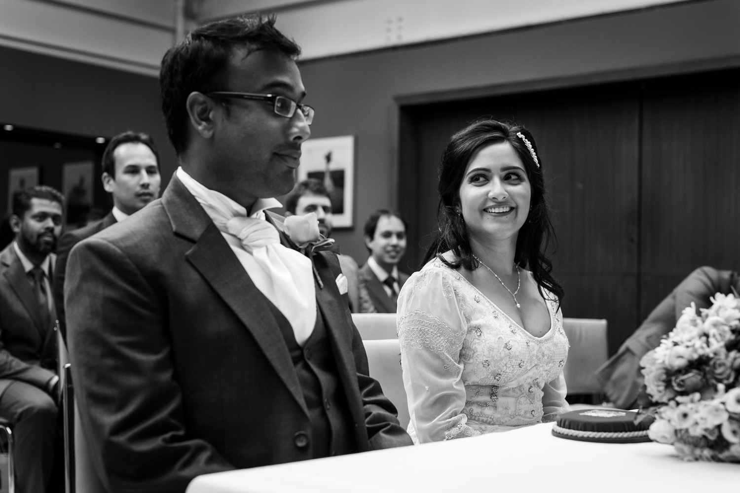 Bluebird Restaurant, London, wedding photography – Reshmi & Sarit