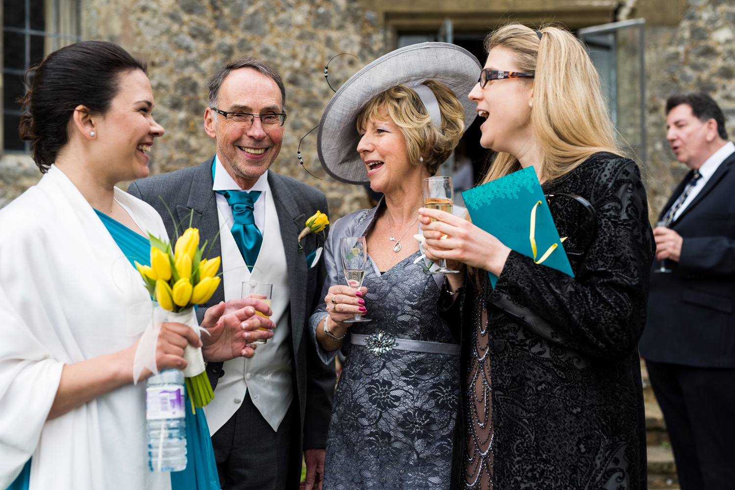 Drinks reception at Lympne Castle