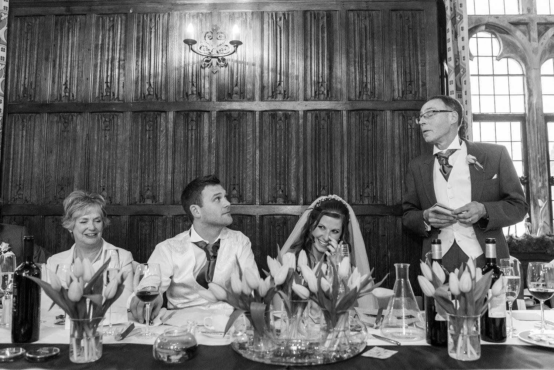 Lympne castle wedding speeches