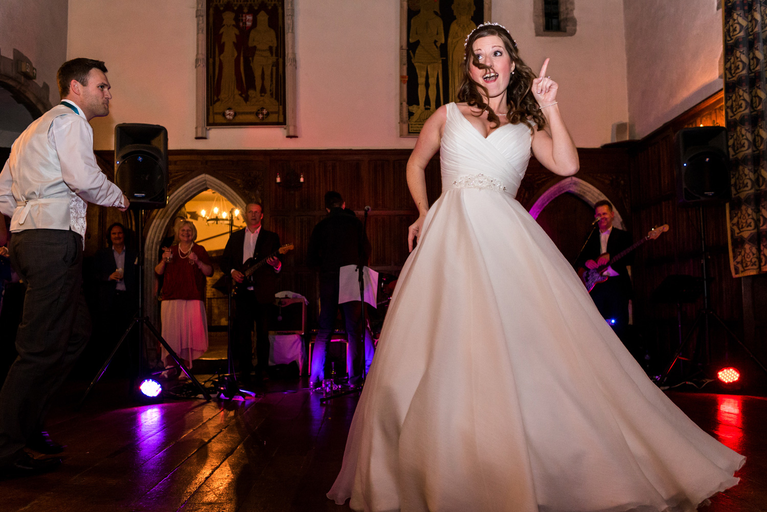 Lympne castle first dance