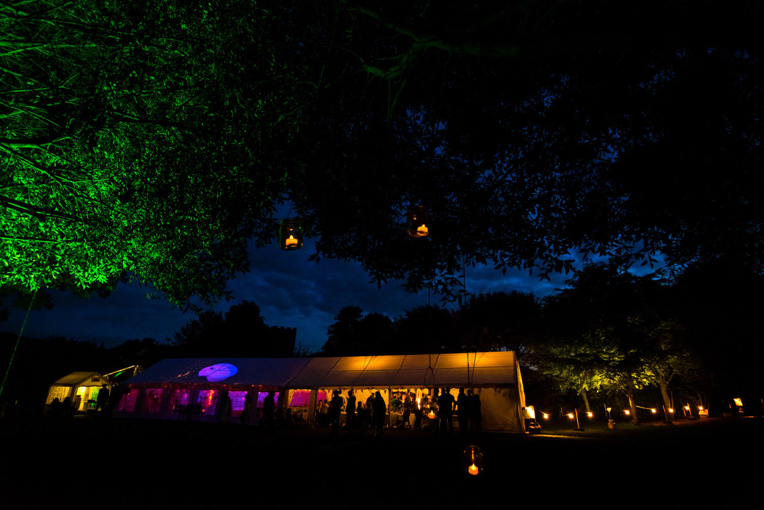 kent marquee wedding