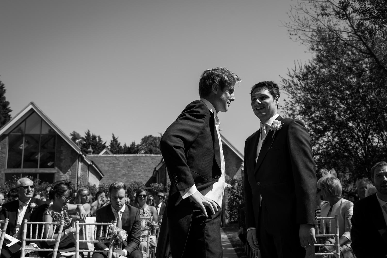 mill bridge court wedding photograph
