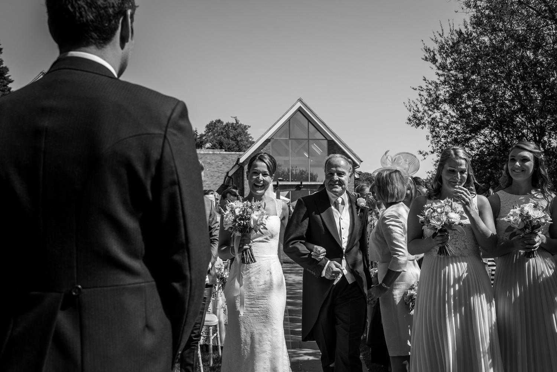 bridal entrance at millbridge court