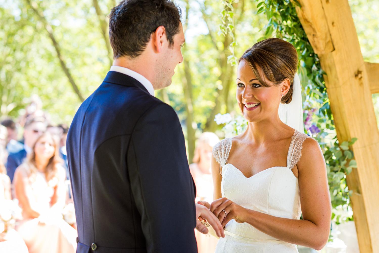 wedding photography at Millbridge Court