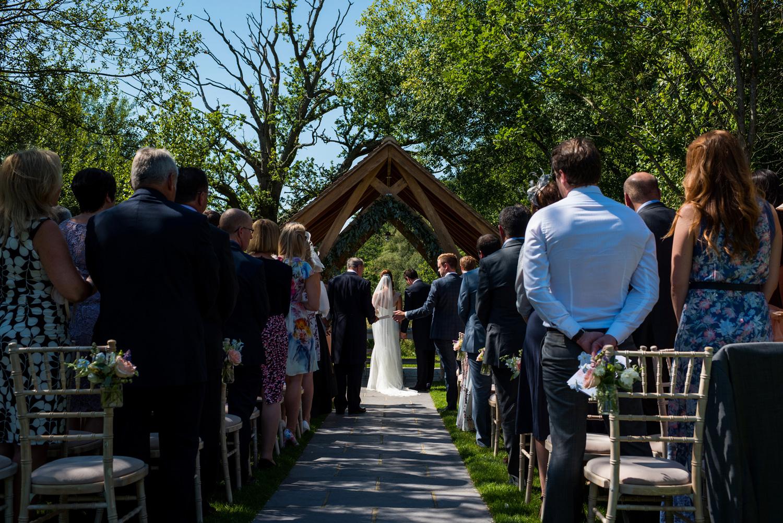 Mill bridge court wedding