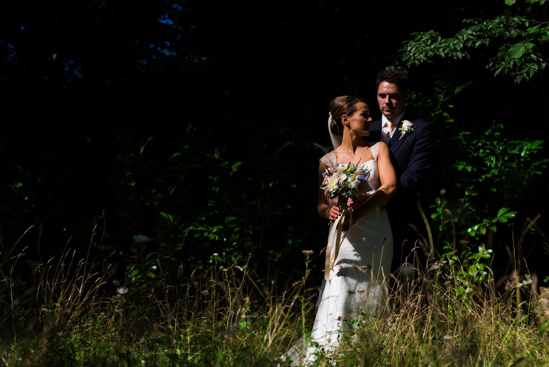 Bridal portrait ar Millbridge Court