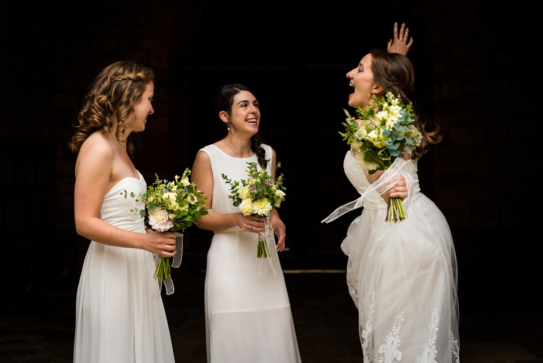 Dancing Brides Maids